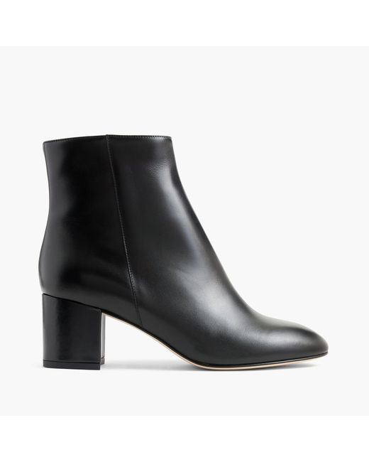 J.Crew   Black Hadley Leather Boots   Lyst