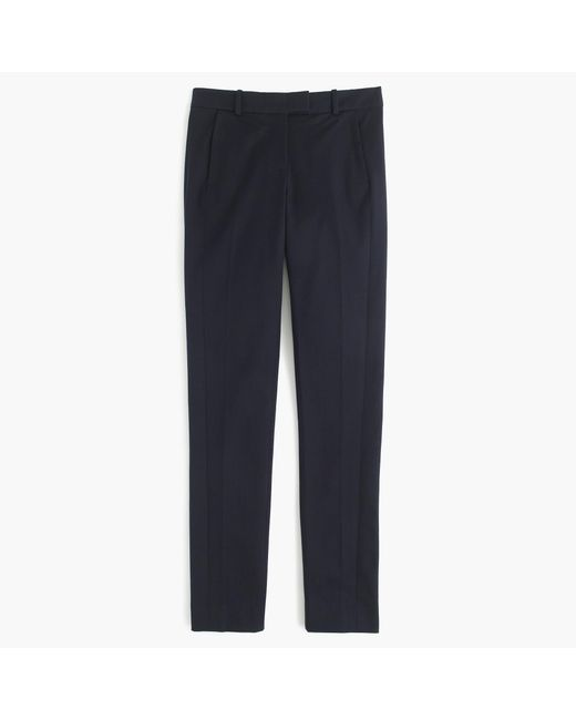 J.Crew - Blue Tall Maddie Pant In Two-way Stretch Cotton - Lyst