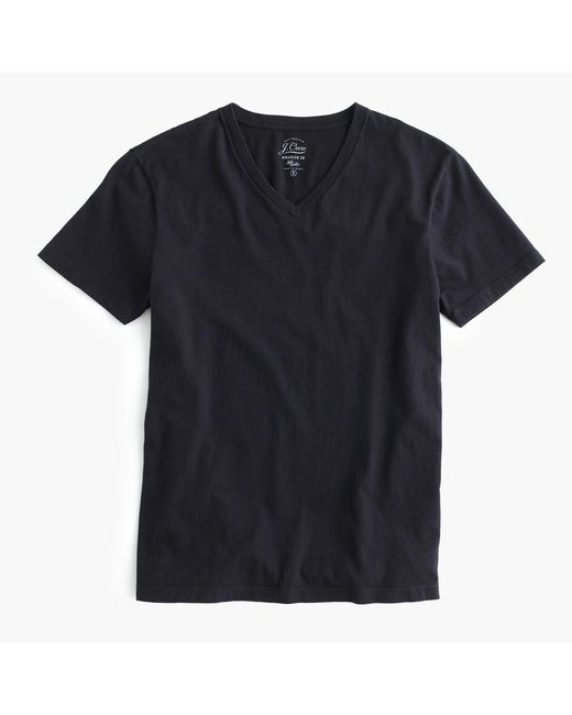 J.Crew | Black Broken-in V-neck T-shirt for Men | Lyst