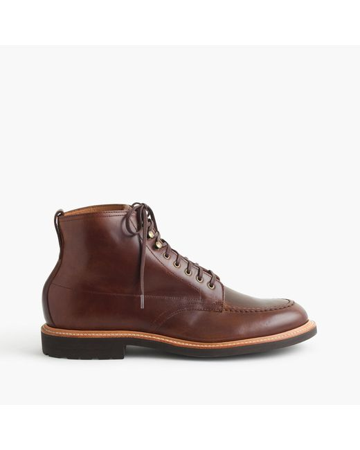 J.Crew - Brown Kenton Leather Pacer Boots for Men - Lyst