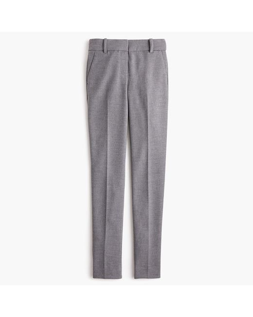 9e35ca0c9156a J.Crew Full-length Cameron Pant In Four-season Stretch in Gray - Lyst