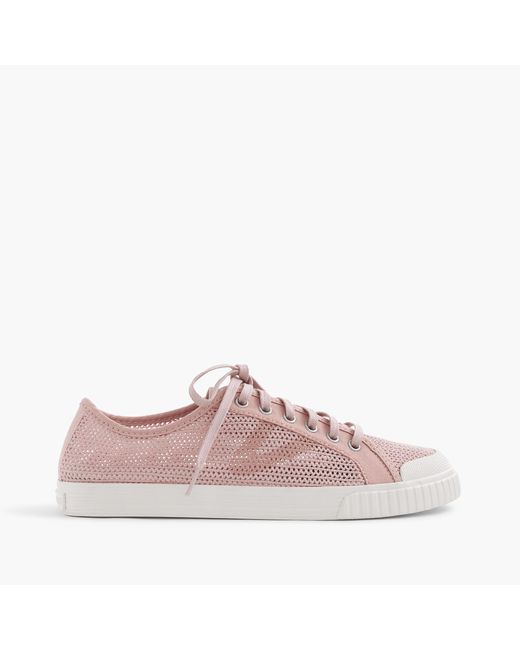 J.Crew   Pink Women's Tretorn Tournament Net Sneakers   Lyst
