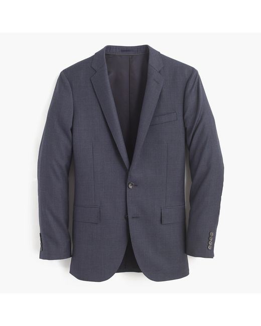J.Crew | Blue Ludlow Suit Jacket With Double Vent In Italian Worsted Wool for Men | Lyst