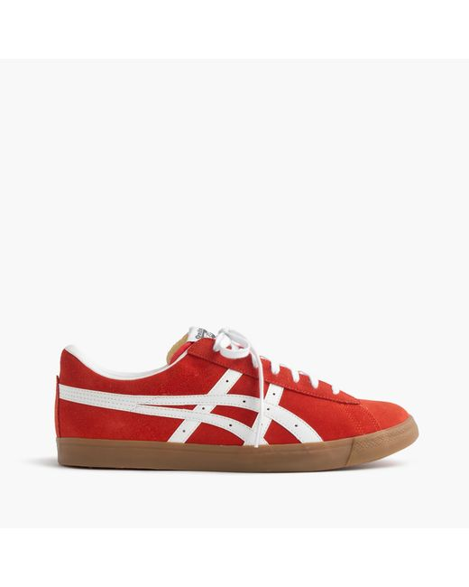 J.Crew | Red Onitsuka Tiger Fabre Low Sneakers for Men | Lyst