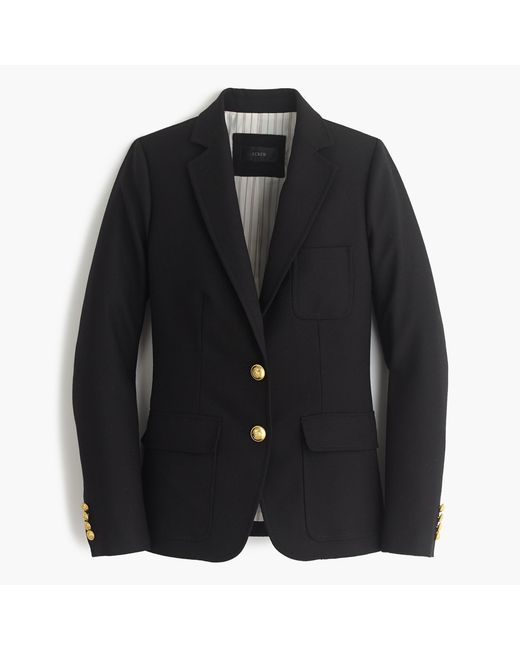 J.Crew   Black Petite Rhodes Blazer In Italian Wool   Lyst