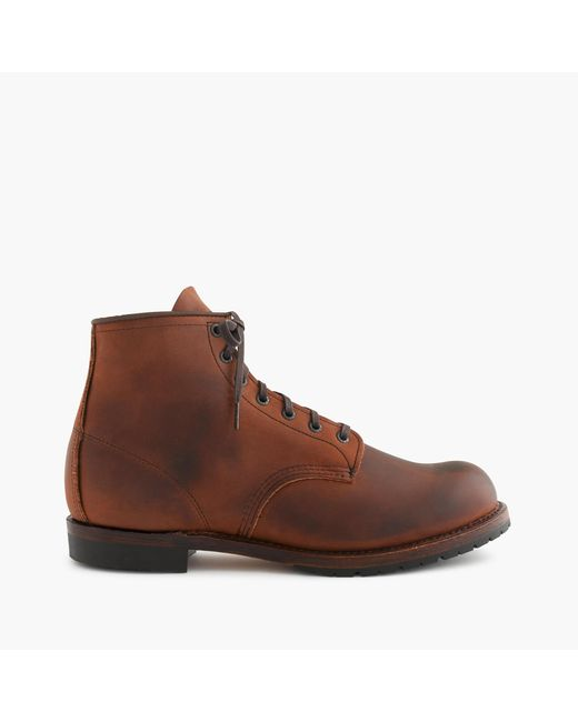 J.Crew | Brown Red Wing Beckman Boots for Men | Lyst