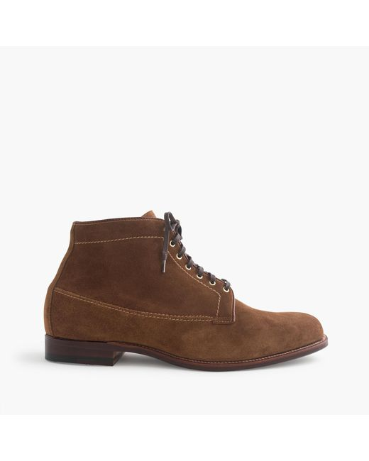 J.Crew | Brown Alden Michigan Boots for Men | Lyst