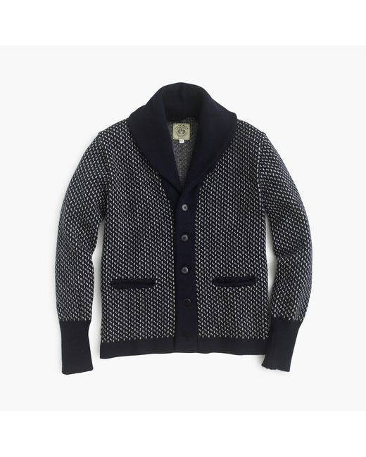 J.Crew   Blue North Sea Clothing Intrepid Cardigan Sweater for Men   Lyst