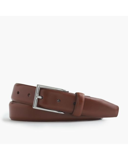 J.Crew | Brown Leather Dress Belt for Men | Lyst