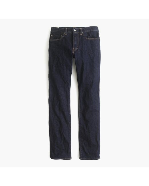 J.Crew | Blue 484 Stretch Jean In Indigo | Lyst