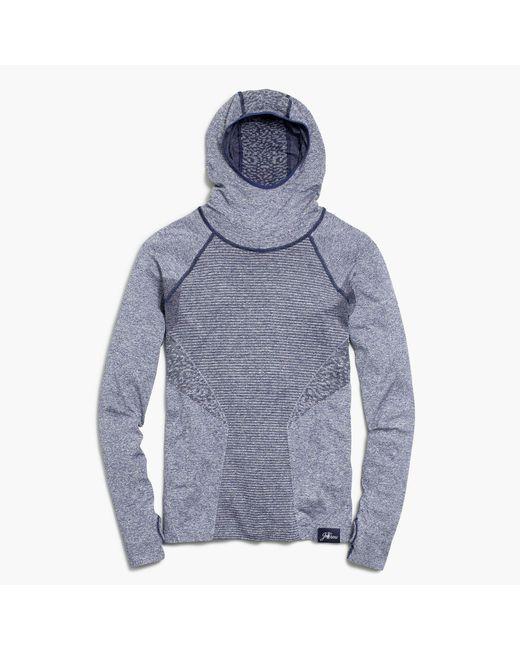 J.Crew | Blue New Balance Seamless Hoodie for Men | Lyst