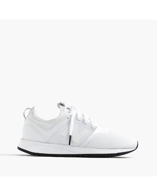 J.Crew   White Women's New Balance 247 Sneakers   Lyst