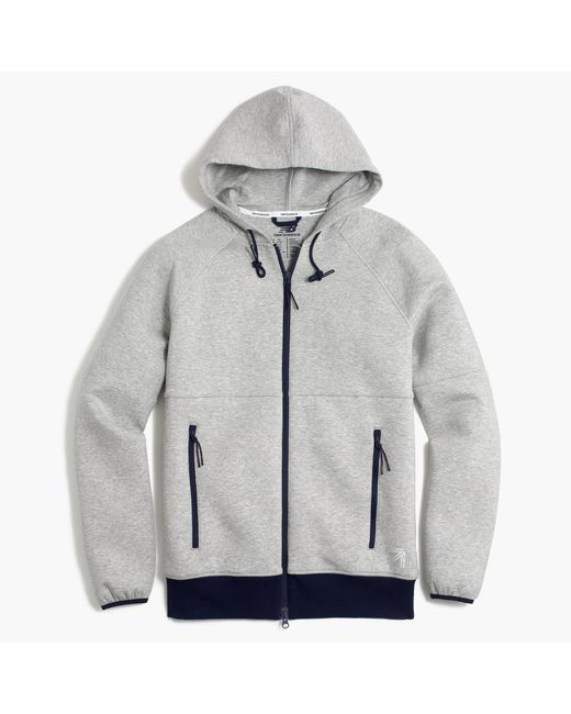 J.Crew | Gray New Balance Full-zip Hoodie for Men | Lyst