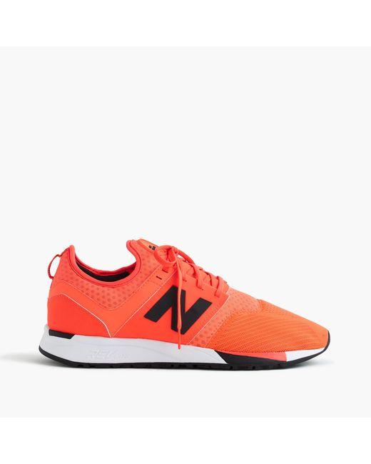 J.Crew   New Balance 247 Sport Sneakers In Orange for Men   Lyst
