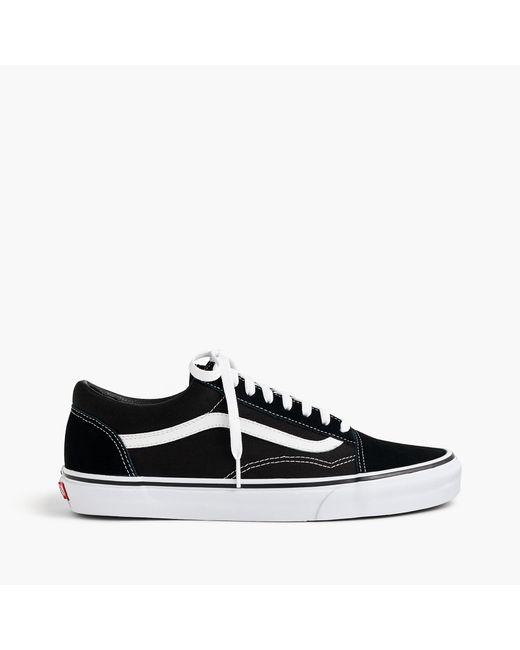J.Crew | Vans Old Skool Sneakers In Black for Men | Lyst
