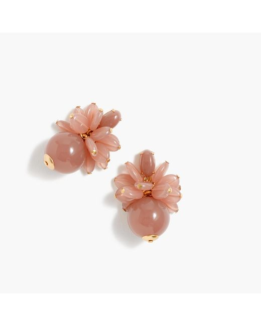 J.Crew | Multicolor Blossom Bauble Earrings | Lyst