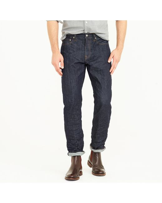 J.Crew - Blue 1040 Athletic Jean In Resin Rinse for Men - Lyst