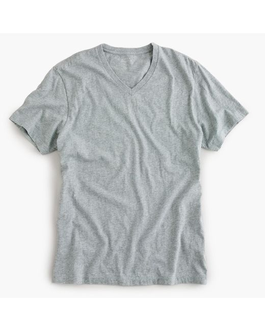 J.Crew - Natural Slim Broken-in V-neck T-shirt for Men - Lyst