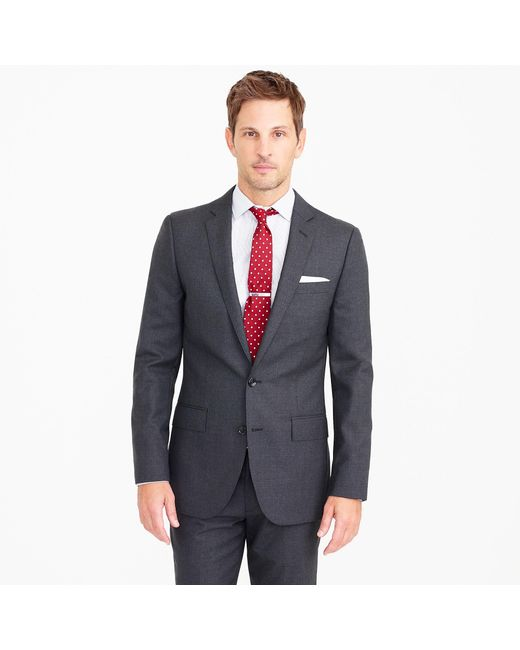 J.Crew - Gray The Ludlow Suit In Italian Wool for Men - Lyst