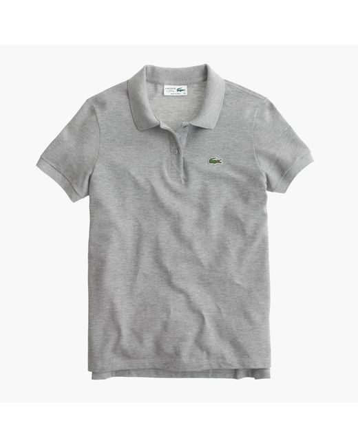 J.Crew | Gray Lacoste Polo Shirt | Lyst
