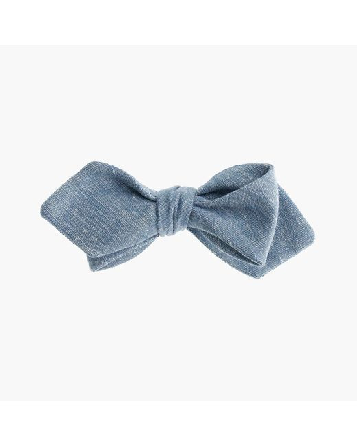 J.Crew | Blue Chambray Bow Tie for Men | Lyst