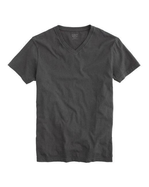 J.Crew | Black Slim Broken-in V-neck T-shirt for Men | Lyst