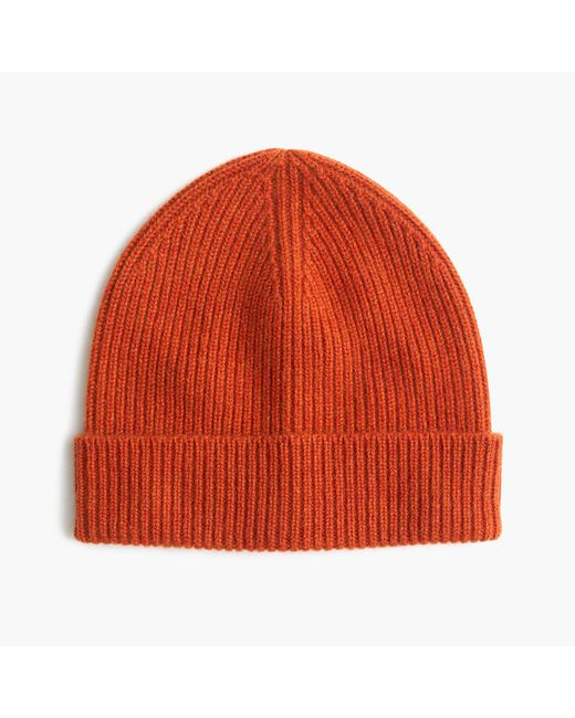 J.Crew | Red Cashmere Hat | Lyst