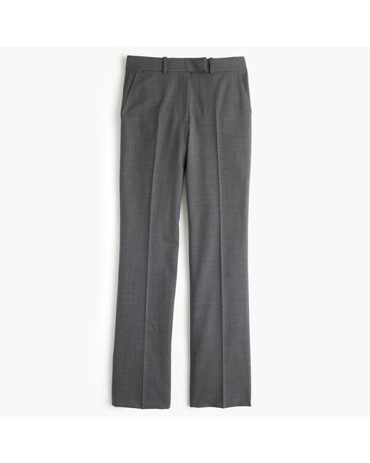J.Crew   Gray Preston Pant In Italian Stretch Wool   Lyst