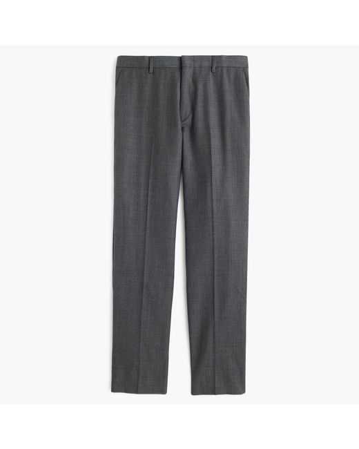 J.Crew | Gray Ludlow Suit Pant In Italian Worsted Wool for Men | Lyst