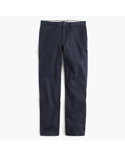 J.Crew - Blue Stretch Chino In 1040 Athletic Fit for Men - Lyst