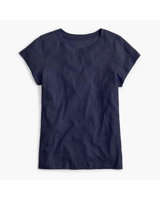 J.Crew | Blue New Vintage Cotton T-shirt | Lyst