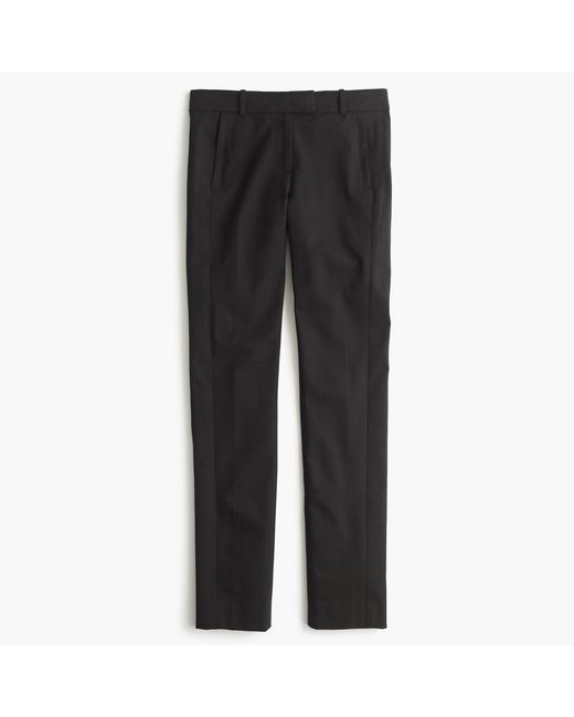 J.Crew   Black Maddie Pant In Two-way Stretch Cotton   Lyst