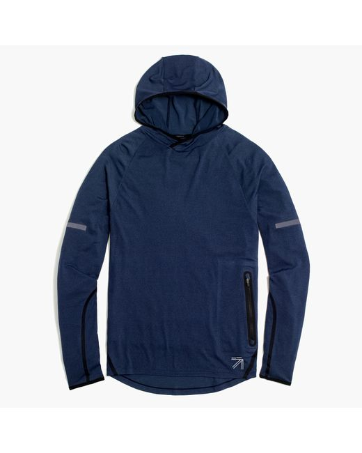 J.Crew | Blue New Balance Workout Hoodie for Men | Lyst