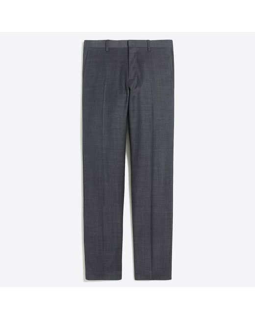 J.Crew - Gray Slim Thompson Suit Pant In Worsted Wool for Men - Lyst