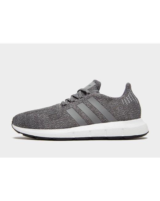 ef8203e7fb969 Adidas Originals - Gray Swift Run for Men - Lyst ...