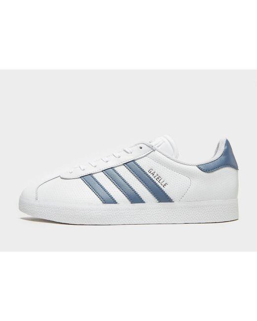 uk availability 57d07 84c47 Adidas Originals - Blue Gazelle for Men - Lyst ...