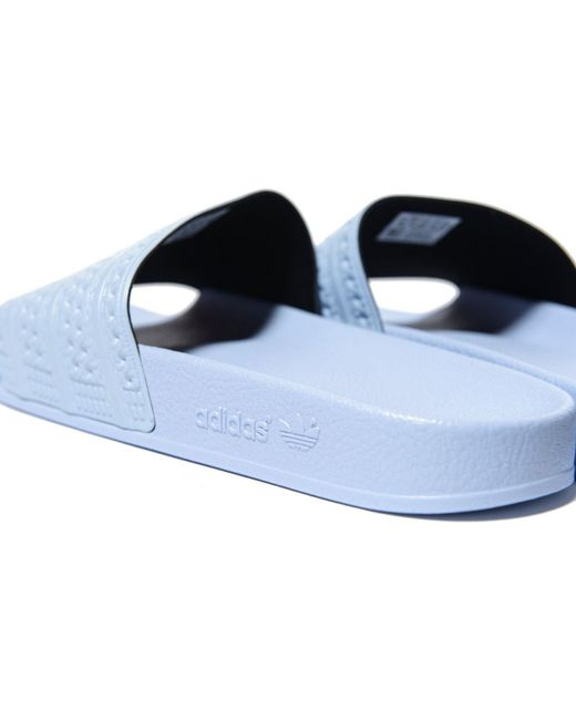 d868b632e987 ... Adidas Originals - Adilette Easy Blue Pool Sliders - Mens Uk 8 for Men  - Lyst ...
