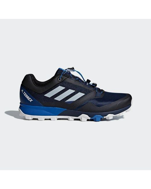 Adidas - Blue Terrex Trail Maker Shoes for Men - Lyst ... 2054a3a21