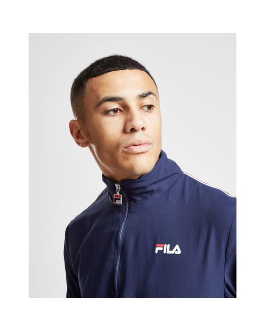 2f240b0639ff5 Fila Duane Woven Tracksuit in Blue for Men - Save 48% - Lyst