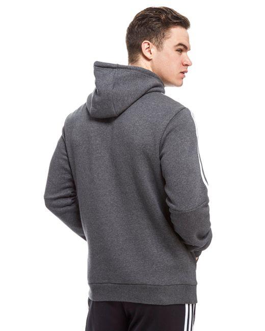 adidas originals trefoil half zip hoodie