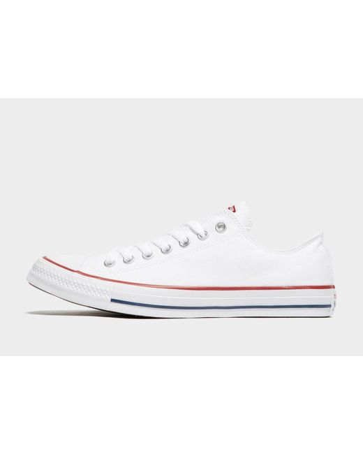 3294aee077ea Converse - White All Star Ox for Men - Lyst ...