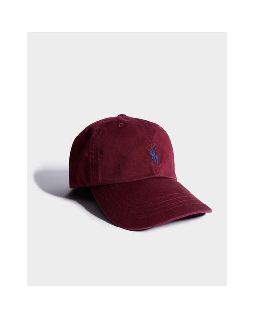 511a6f3ec Polo Ralph Lauren Classic Cap in Red for Men - Save 24% - Lyst