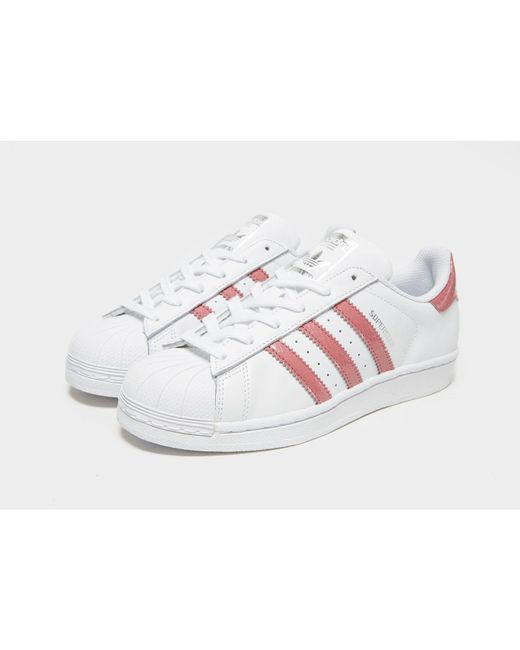 24a44eafca71 ... Adidas Originals - White Superstar - Lyst ...