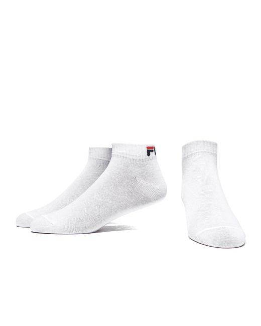 Fila Sports Towel: Fila 3-pack Quarter Sport Socks In White For Men