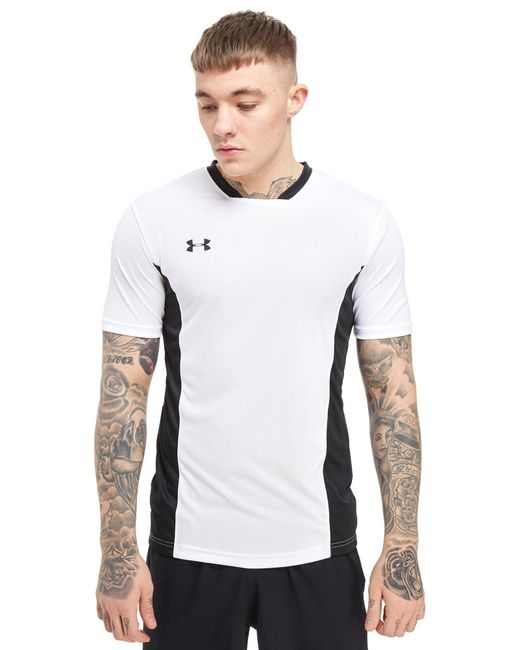 Under Armour - White Challenger T-shirt for Men - Lyst