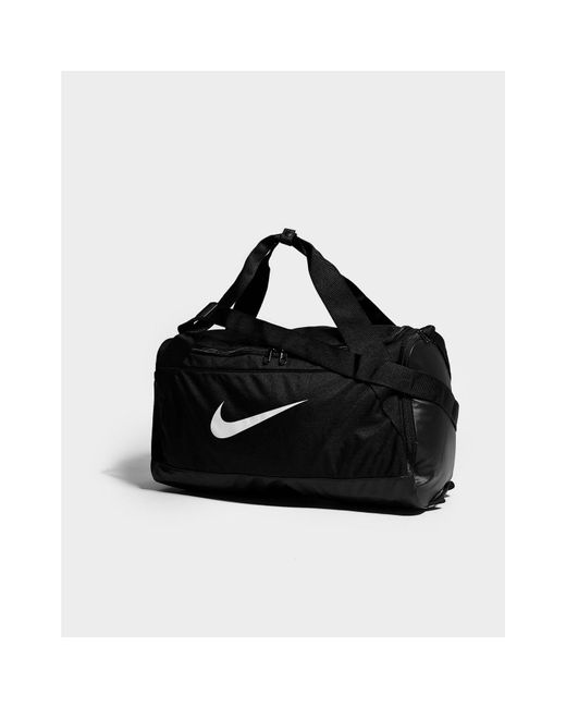 3455abf2097f Nike Brasilia Small Duffle Bag in Black for Men - Save 35% - Lyst