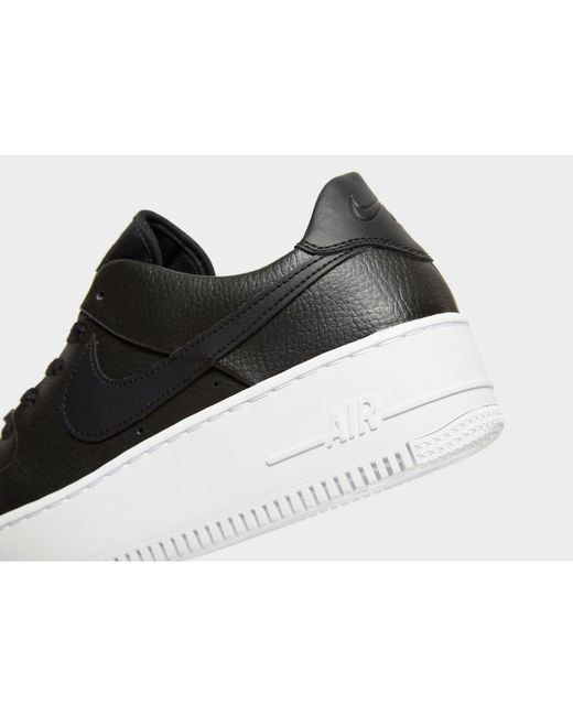 de2c503d52b5 Lyst - Nike Women s Air Force 1 Sage Low in Black - Save 11%