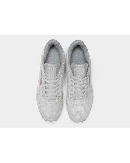 7b1e468be62 ... Reebok - Gray Classic Leather for Men - Lyst ...