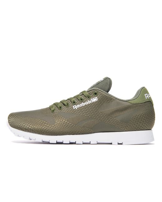 Reebok | Green Classic Jacquard for Men | Lyst