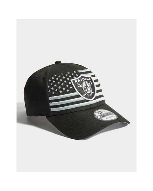c6f40b57 ... KTZ - Black Nfl Oakland Raiders 9forty Cap - Lyst ...